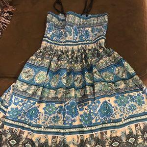 Girls silky dress
